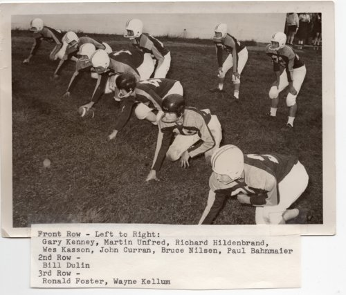 Lecompton Rural High School Football Team, Lecompton, Kansas - Page