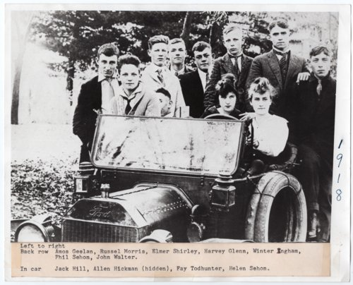 Lecompton High School Senior Class of 1918, Lecompton, Kansas - Page