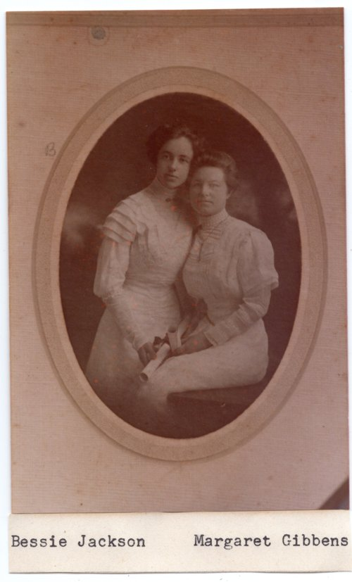 Lecompton High School Senior Class of 1910, Lecompton, Kansas - Page