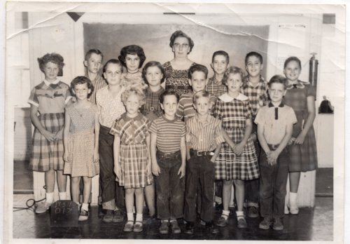 Greenwood Valley School, 1959-1960, Lecompton township, Douglas County, Kansas - Page