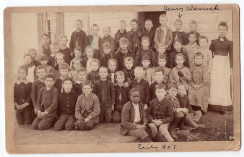 Early 1890's Lecompton Elementary School, Lecompton, Kansas - Page