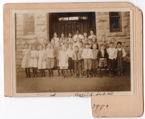 Early 1900's Lecompton Elementary Class, Lecompton, Kansas - Page