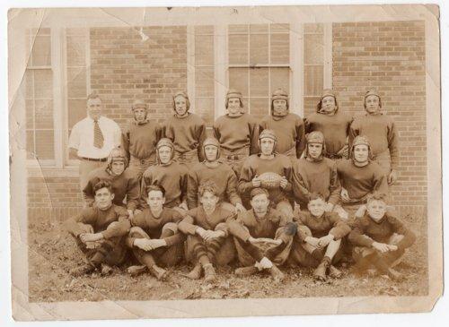 1932 Lecompton Rural High School Football Team, Lecompton, Kansas - Page