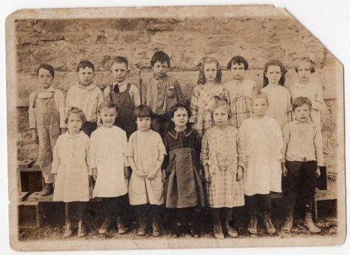 Lecompton Grade School about 1925, Lecompton, Kansas - Page