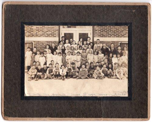Lecompton Grade School Students, Lecompton, Kansas - Page