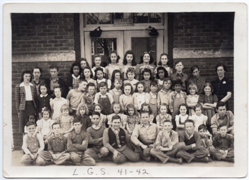 Lecompton Grade School 1941-1942, Lecompton, Kansas - Page