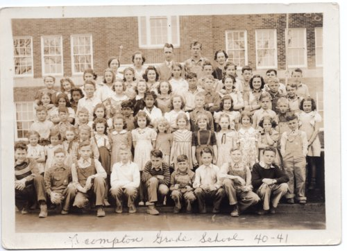 Lecompton Grade School, Lecompton, Kansas - Page