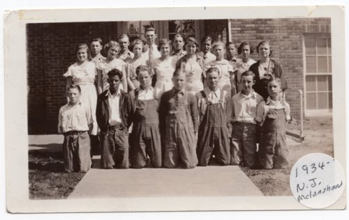 Lecompton High School Freshman Class, 1934, Lecompton, Kansas - Page