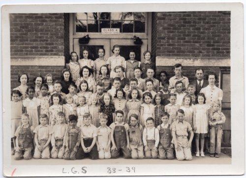 Lecompton Grade School, 1938-1939, Lecompton, Kansas - Page