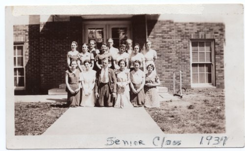 Lecompton High School Senior Class, 1934, Lecompton, Kansas - Page