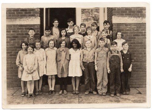 Lecompton 5th and 6th Grade Students, Lecompton, Kansas - Page