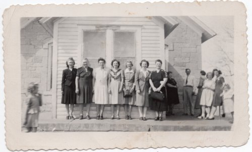 Women at Glenn School near Lecompton, Kansas - Page
