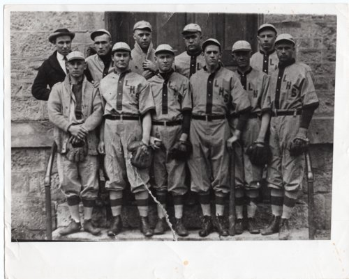 Lecompton Rural High School Baseball Team, 1914, Lecompton, Kansas - Page
