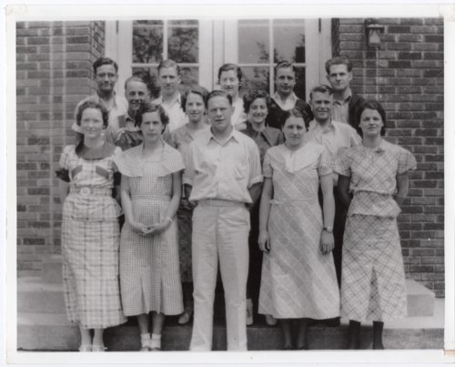 1935 Senior Class of Lecompton Rural High School, Lecompton, Kansas - Page