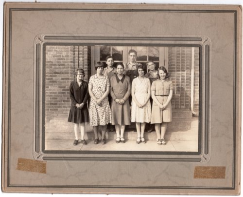 1933 Senior Class of Lecompton Rural High School, Lecompton, Kansas - Page