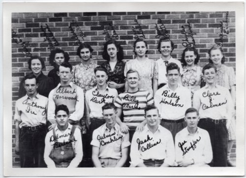 1940 Senior Class of Lecompton Rural High School, Lecompton, Kansas - Page