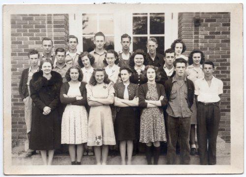 1942 Senior Class of Lecompton Rural High School, Lecompton, Kansas - Page