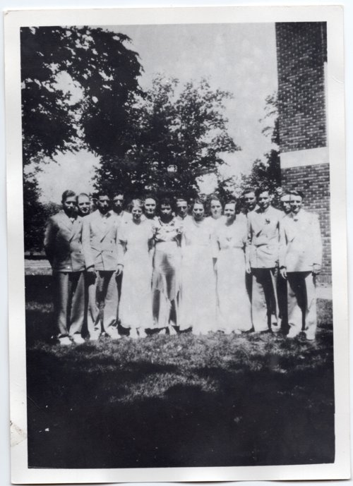 1936 Senior Class of Lecompton Rural High School, Lecompton, Kansas - Page