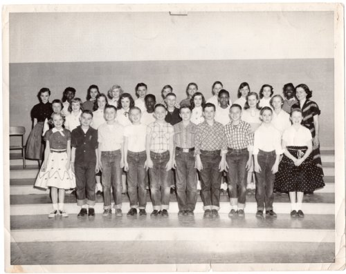 Lecompton Seventh Grade Class, Lecompton, Kansas - Page
