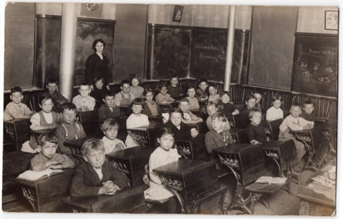 Lecompton Primary Room, Lecompton Elementary School, Lecompton, Kansas - Page