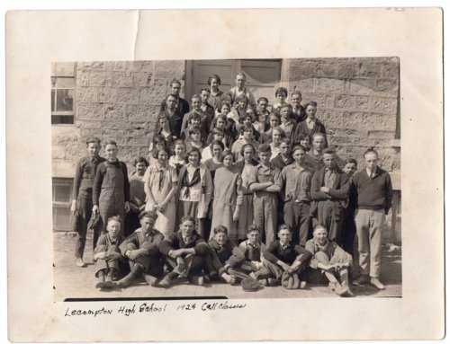 Lecompton High School, 1924, All Classes, Lecompton, Kansas - Page