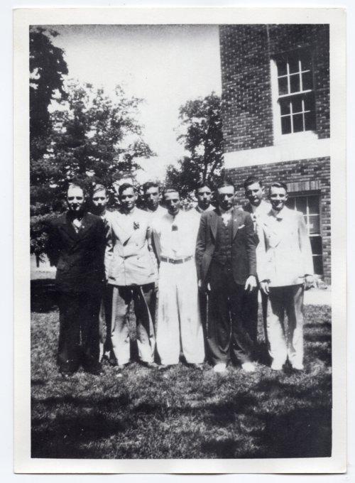 1936 Lecompton Rural High School graduates, Lecompton, Kansas - Page