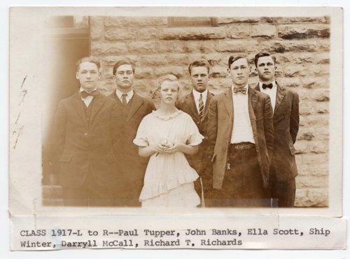 Lecompton High School Class of 1917, Lecompton, Kansas - Page