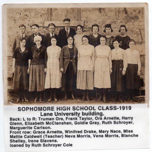 Lecompton High School Sophomore Class, Lecompton, Kansas - Page