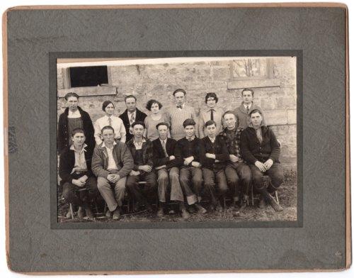 Photograph of Lecompton High School Class of 1926-27, Lecompton, Kansas - Page