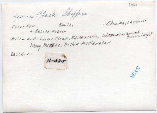 1928 Lecompton High School Girls Basketball team, Lecompton, Kansas - Page