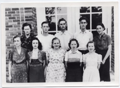 1939 Senior Class of Lecompton Rural High School, Lecompton, Kansas - Page