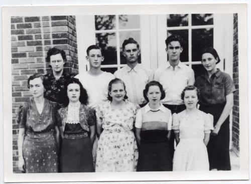 1939 Senior Class of Lecompton Rural High School, Lecompton, Kansas - Page