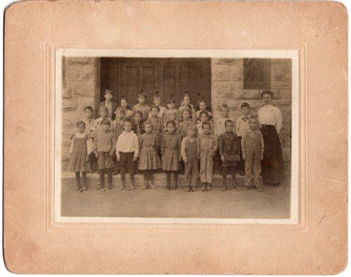 Lecompton Grade School grades 1-3, Lecompton, Kansas - Page
