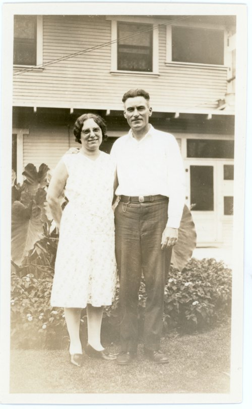 Martin and Minnie Zwanziger, Alma, Kansas - Page