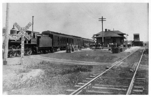 Missouri Pacific Railroad depot, Goff, Kansas - Page