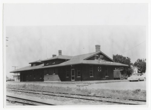 Atchison, Topeka and Santa Fe Railway Company depot, Coffeyville, Kansas - Page