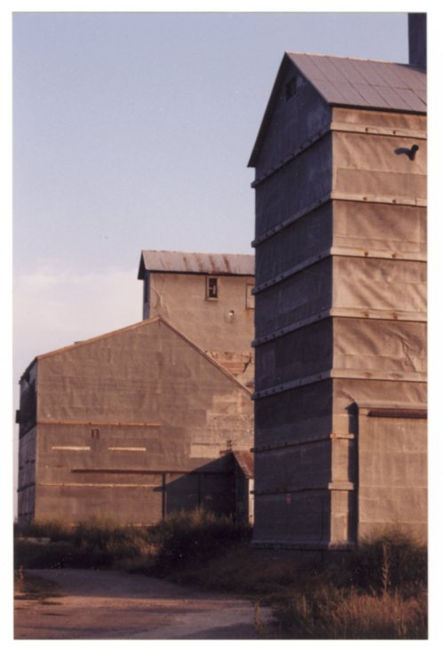 Skaggs' grainery in Brownell, Kansas - Page