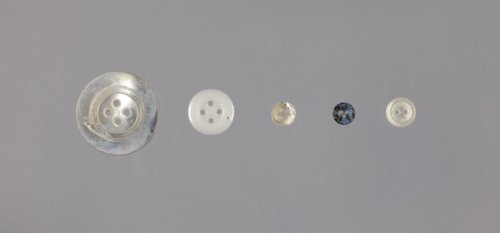Buttons from the Thomas Johnson/Henry Williams Dugout Site, 14GH102 - Page