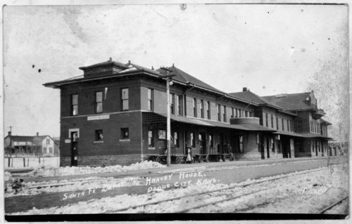 Dodge, City, Kansas depot and Fred Harvey House - Page