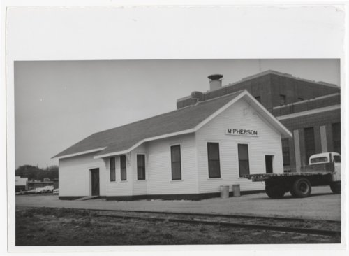 Union Pacific Railroad Company depot, McPherson, Kansas - Page