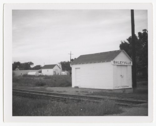Union Pacific Railroad Company's box depot, Baileyville, Kansas - Page