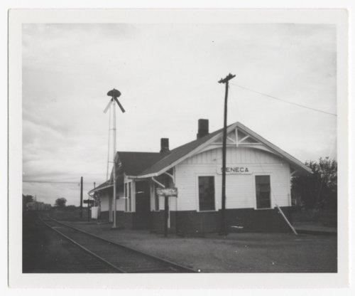 Union Pacific Railroad Company depot, Seneca, Kansas - Page