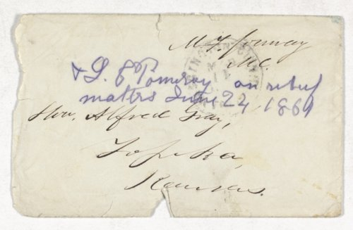 Alfred Gray correspondence - Page
