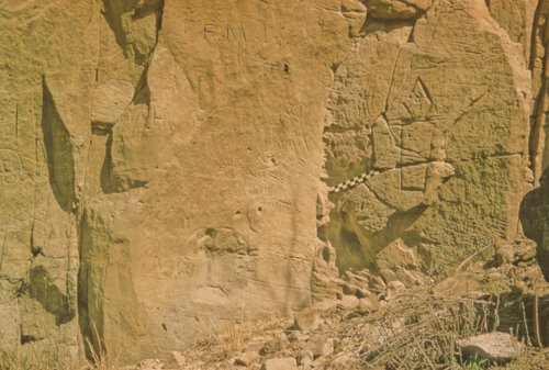 Petroglyphs from the Russell Site in Russell County - Page