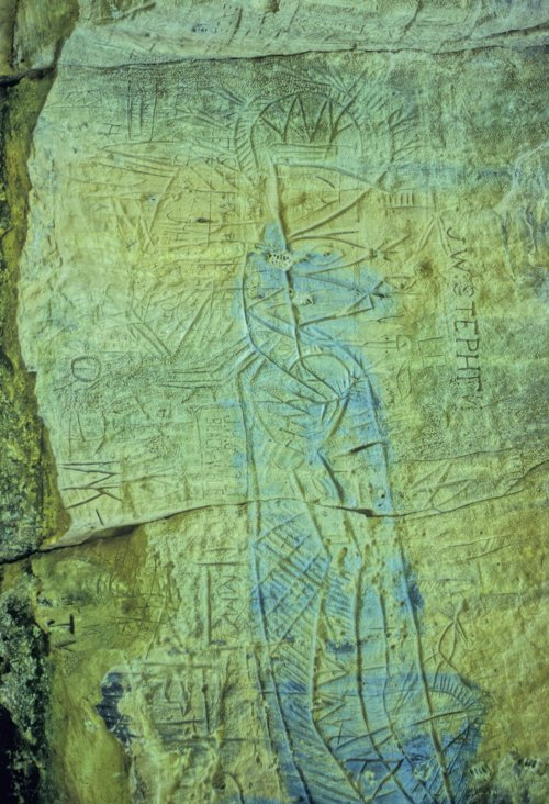 Petroglyphs from the Cave Hollow Site in Ellsworth County - Page