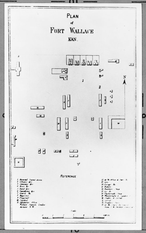 Plan of Fort Wallace, Wallace County, Kansas - Page
