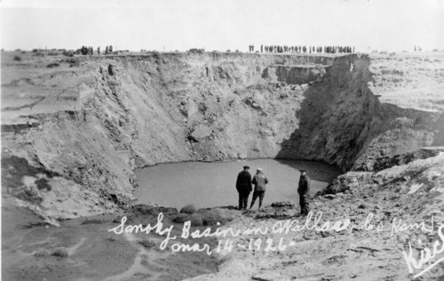 Sunken basin in the Smoky Hill River, Wallace County, Kansas - Page
