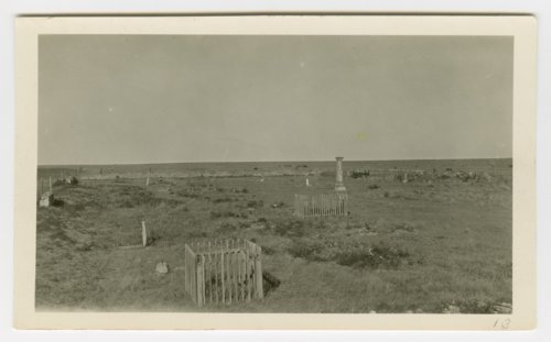 Four views of the government cemetery at Fort Wallace, Kansas - Page