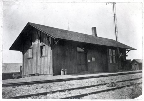 Chicago, Rock Island & Pacific Railroad depot, Ramona, Kansas - Page