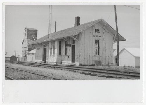 Chicago, Rock Island & Pacific Railroad depot, Ramona, Kansas - Page